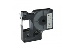Kompatibilní páska s Dymo 40913, S0720680 / 41913, 9mm x 7m černý tisk / bílý podklad