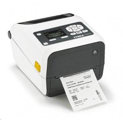 """Zebra ZD620 ZD62H42-T0EF00EZ TT drukarka etykiet, 4"""" LCD, TT drukarka etykiet, 4"""" Healthcare, 203 dpi, BTLE, USB, USB Host, RS232 & LAN"""