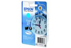 Epson originální ink C13T27024022, 27, cyan, 3, 6ml, Epson WF-3620, 3640, 7110, 7610, 7620