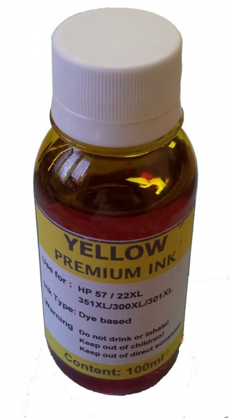 Bulk ink for Canon 1000ml yellow