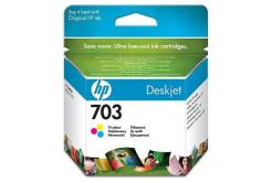 HP 703 CD888AE kolorowa tusz oryginalna
