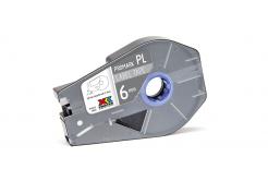 Partex PROMARK-PL060CN8, argint banda adeziva, 6mm, 27m