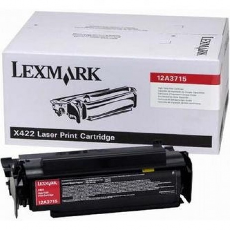 Lexmark 12A3715 negru (black) toner original