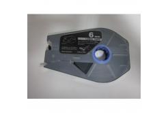 Kompatibilní samolepicí páska pro Canon M-1 Std/M-1 Pro, 6mm x 30m, kazeta, stříbrná