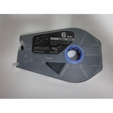Kompatibilná samolepiaca páska pre Canon M-1 Std/M-1 Pro / Partex, 6mm x 30m, kazeta, strieborná