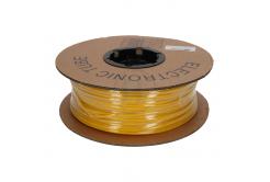 Označovací oválná PVC bužírka, BF-20, 2 mm, 200 m, žlutá