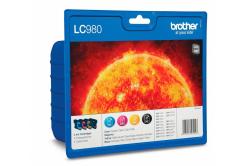 Brother LC-980VALBP multipack originálna cartridge