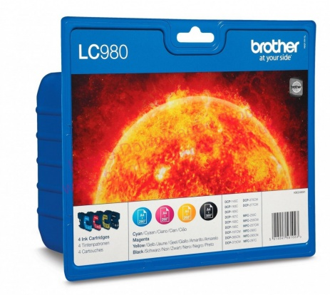 Brother LC-980VALBP multipack eredeti tintapatron