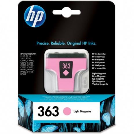 HP 363 C8775EE világos bíborvörös (light magenta) eredeti tintapatron