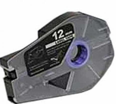 Kompatibilná samolepiaca páska pre Canon M-1 Std/M-1 Pro / Partex, 12mm x 30m, kazeta, strieborna