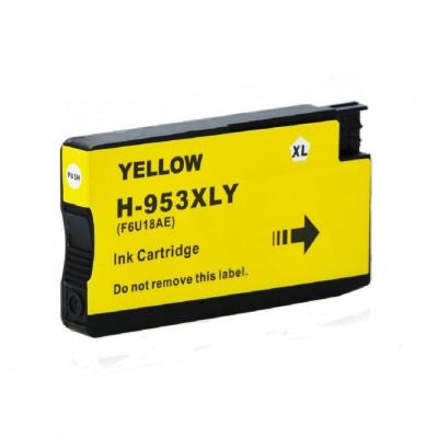HP 953XL F6U18AE žlutá (yellow) kompatibilní cartridge