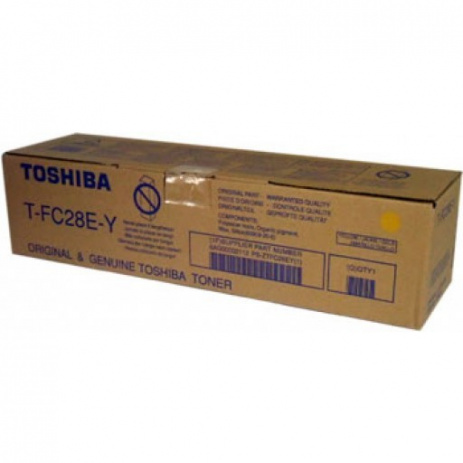 Toshiba TFC28EY yellow original toner