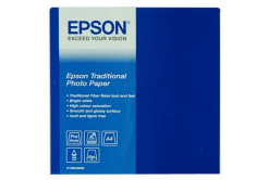 Epson C13S045050 Traditional Photo Paper, foto papír, saténový, bílý, A4, 330 g/m2, 25 ks, C13S045050, in