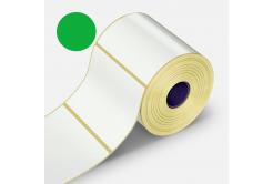 Samolepicí etikety 32x20 mm, 2000ks, zelené termo, role