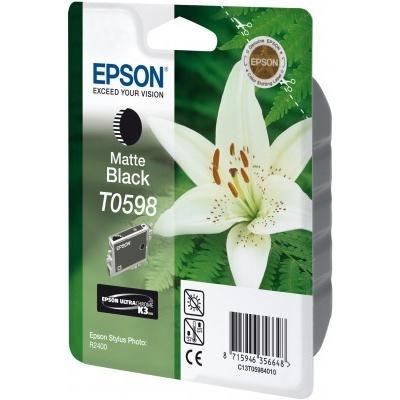 Epson T059840 matná černá (matte black) originální cartridge
