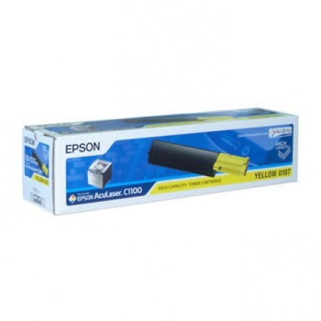 Epson C13S050187 sárga (yellow) eredeti toner