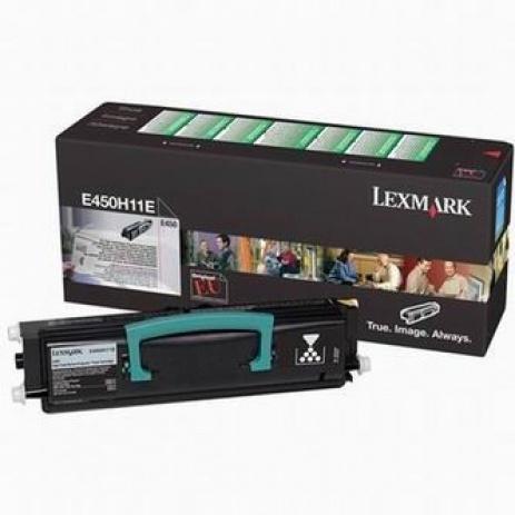Lexmark E450H11E fekete (black) eredeti toner