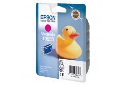 Epson T0553 purpurová (magenta) originální cartridge