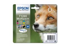 Epson originální ink C13T12854012, T1285, CMYK, 16, 4ml, Epson Stylus S22, SX125, 420W, 425W, Stylus Office BX305