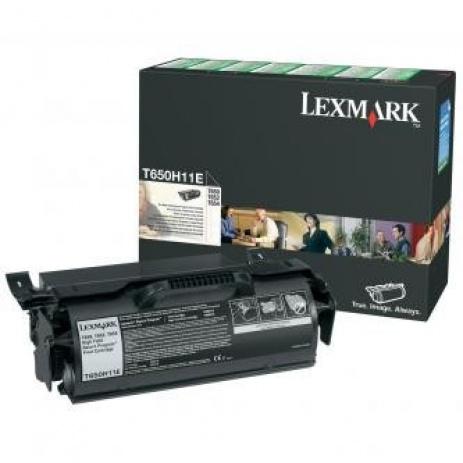 Lexmark T650H11E negru toner original