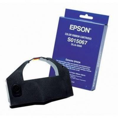 Epson originální páska do tiskárny, C13SO15067, color, Epson DLQ 3000, 3000+, 3500