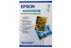 Epson C13S041342 Archival Matte Paper, bílá, 50, ks C13S041342, pro inkoustové tiskárny, 210x297mm (A4), A