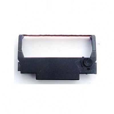 Epson taśma oryginalna C43S015376, ERC 38, červeno-czarny, Epson TM-300, U-375, 2