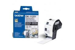 Brother DK-11221, 23mm x 23mm, papírové štítky