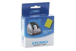 Dymo 11355, S0722550, 19mm x 51mm, bílé multifunkční papírové štítky
