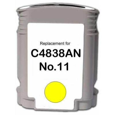 HP 11 C4838A žlutá (yellow) kompatibilní cartridge