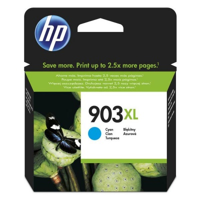 HP 903XL T6M03AE azurová (cyan) originální cartridge, výprodej
