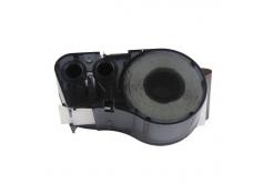 Brady M21-750-595-RD / 142801, vinyl, 19.05 mm x 6.40 m, černý tisk / červený podklad, kompatibilní páska