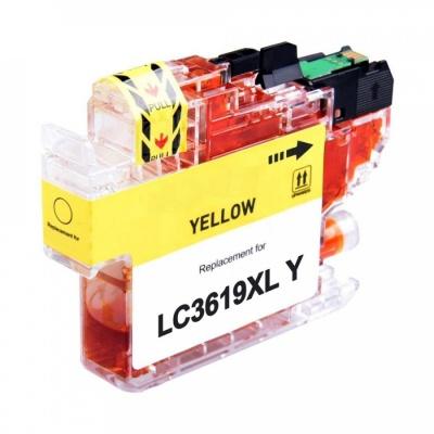 Brother LC-3619XL žlutá (yellow) kompatibilní cartridge