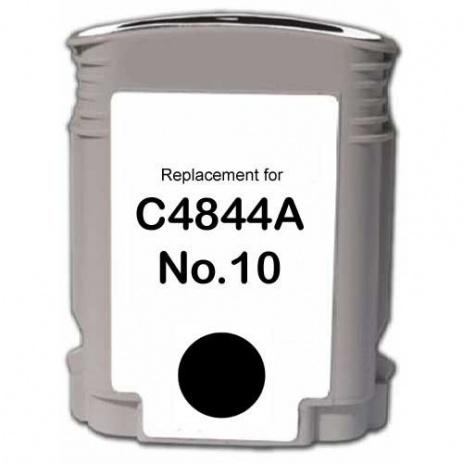 HP č.10 C4844A čierna (black) kompatibilná cartridge